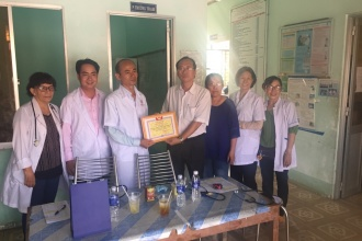 CHARITY ACTIVITY – FREE MEDICINE TO POOR PEOPLE IN VIETNAM